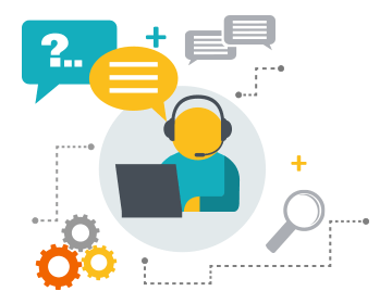Effective and efficient Helpdesk Support